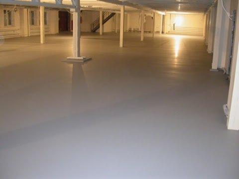 Эмаль для бетонных полов